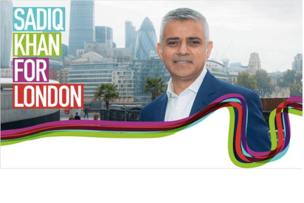 Premier maire musulman de Londres  Sadiq Khan entre dans l'histoire