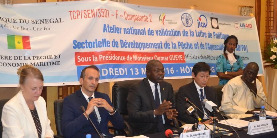 Pêche illicite :150 milliards perdus par an, selon Oumar Guèye le ministre de la pêche
