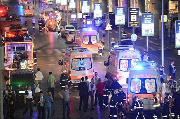 Turquie Un attentat suicide fait au moins 36 morts et 147 blessés à l'aéroport d'Istanbul