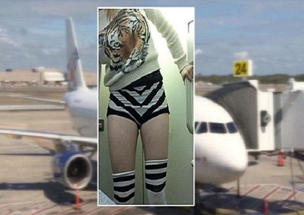 Logan Une passagère de Jet Blue interdite d'embarquement, pour cause d'habillement jugé trop court