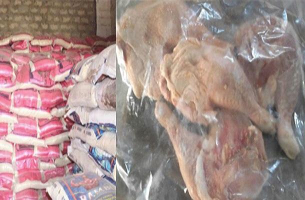 Saint-Louis  Saisie  de cuisses de poulet et de huit tonnes de riz impropre à la consommation