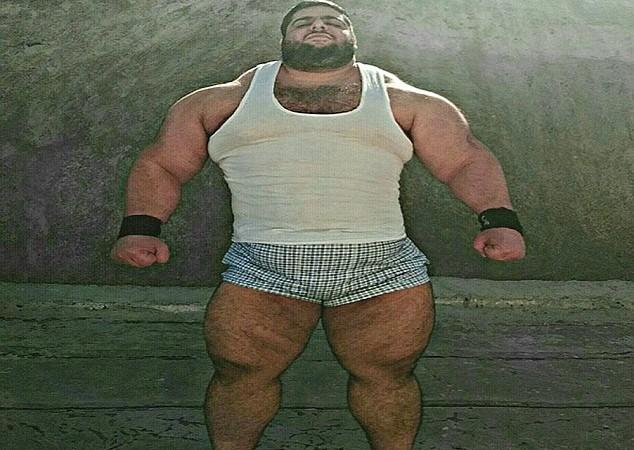 Sajad Gharibi,  L'incroyable ''Hulk'' iranien avec ses 155 kg de muscles