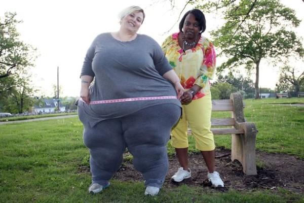 Pennsylvanie Bobbi-Jo Westley, la ''Grande Dame'' qui se tape 2000 dollars par mois, grâce à ses formes généreuses