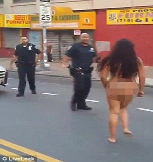 Femme droguée Bronx 2