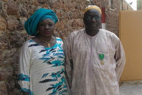 Distinction honorifique  Mamadou Amat, un grand communicant, élevé au grade d'Officier de l'ordre national du Mérite