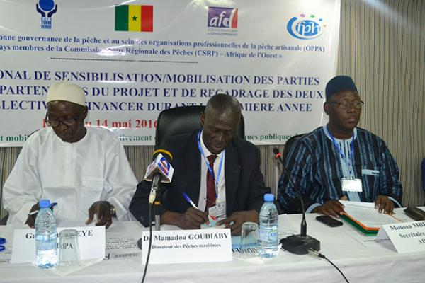 L'insuffisance de compétences politiques et professionnelles :« Un des  obstacles à une bonne participation des acteurs de la pêche artisanale » selon Dr. Mamadou Goudiaby