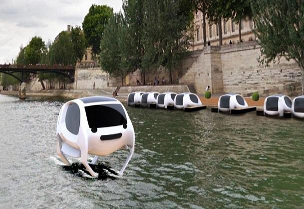 Nouvelles technologies/Sea Bubble : ces voitures qui voleront bientôt au-dessus de la Seine