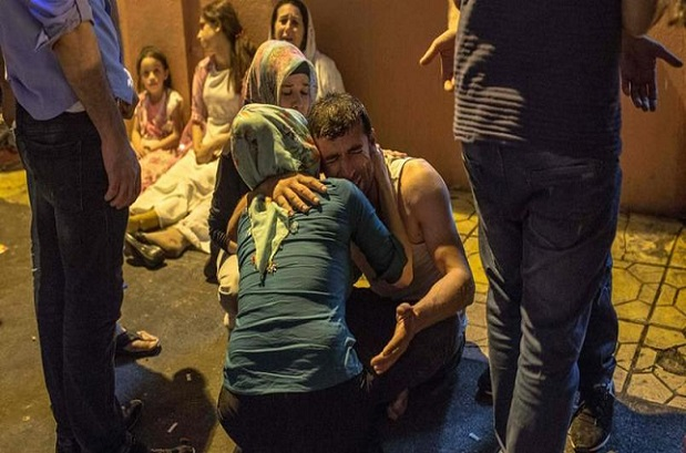 Attentat en Turquie : Une bombe éclate en plein mariage, au moins 50 morts notés