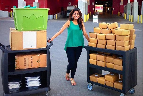 Découverte Une Californienne crée une nouvelle application,  600 000 sans-abri déjà nourris
