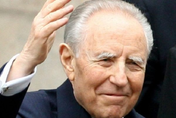 Italie Décès de l'ancien président Carlo Azeglio Campi à l'âge de 95 ans