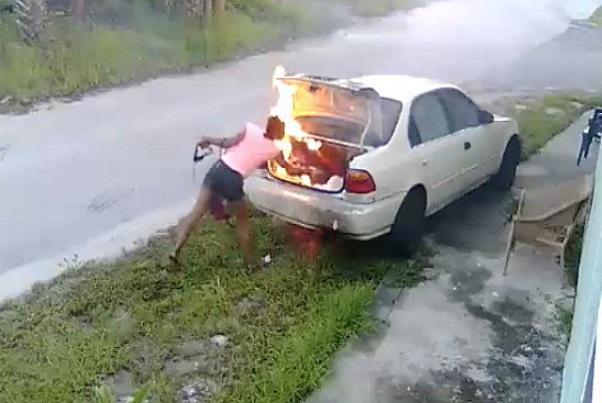Très remontée contre son ex, une femme se trompe de cible et incendie un autre véhicule