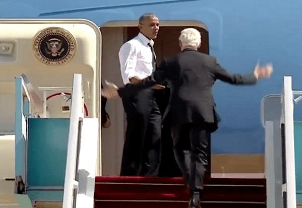 Quand Obama demande Bill Clinton  « d'accélérer »…