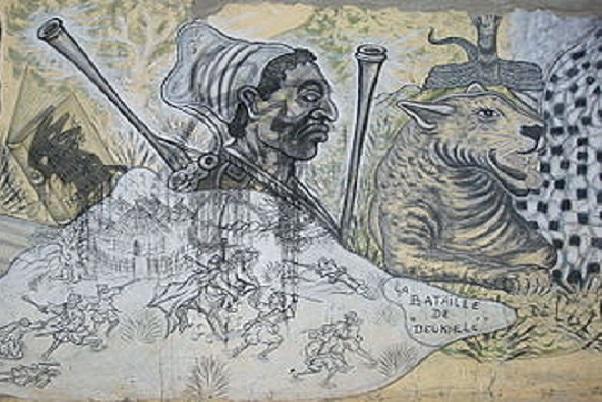 Devoir de Mémoire Dékheulé Il y a 130, nous quittait notre héros national Lat Dior Goné Latyr Diop