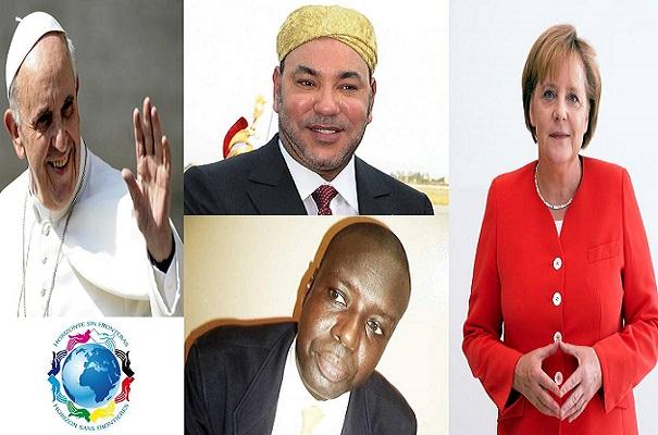 Prix Nobel de la Paix Le trio roi Mohammed VI, le Pape François et la chancelière Merkel, le meilleur choix selon HSF