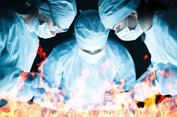 Tokyo Une patiente en pleine opération libère du gaz et déclenche des brûlures