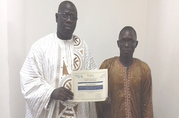 Maîtrise de l'Energie Des ingénieurs, techniciens, architectes venus du Mali, du Rwanda et du Sénégal étaient en formation à Dakar