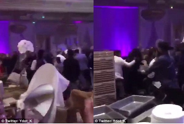 Toronto Une bataille rangée éclate en pleine réception de mariage, un ex petit-ami vicieux est passé par-là