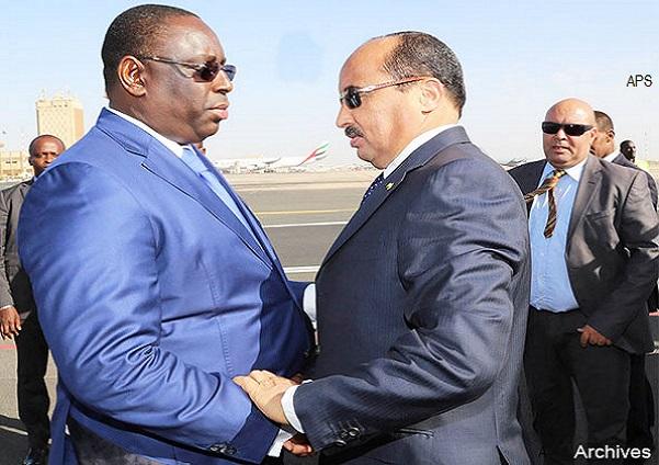 Crise Gambienne Mystère et boule de gomme autour d'un long entretien en Macky, Barrow et le chef de l'état mauritanien