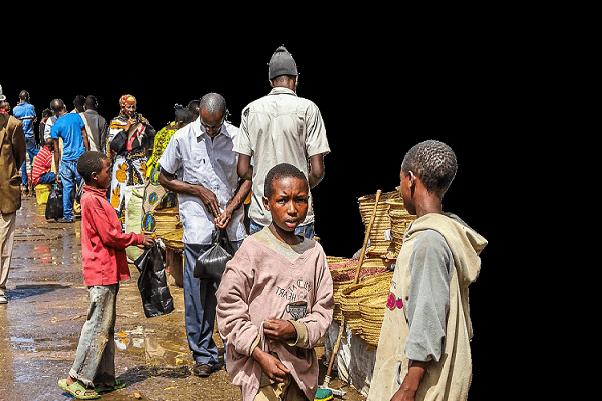 Surpeuplées, déconnectées et donc coûteuses — les villes africaines  limitées aux biens et services non échangeables…