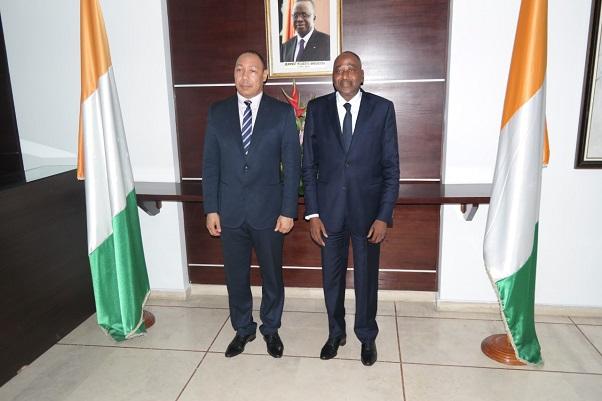 CEDEAO Edward Singhatey en Côte d'Ivoire pour le suivi de la mise en œuvre du prélèvement communautaire