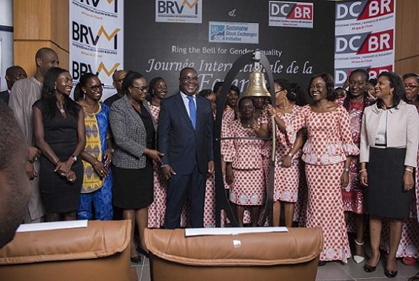 La BRVM engagée à promouvoir le genre sur le marché financier régional de l'UEMOA