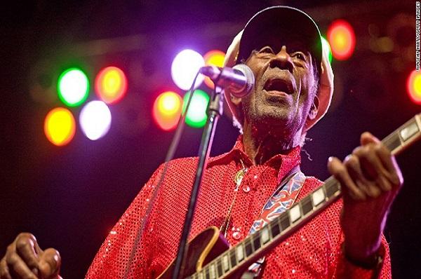 Musique Mort de la légende du rock, Chuck Berry, à l'âge de 90 ans