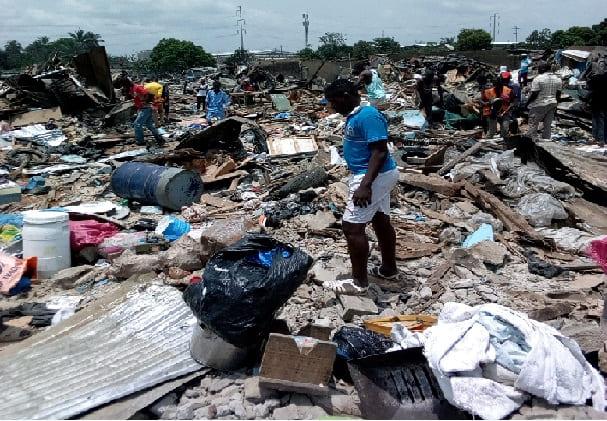 Yopougon Andokoi: un quartier entier rasé, près d'une centaine de familles jetées à la rue