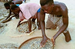 chercheurs de diamants