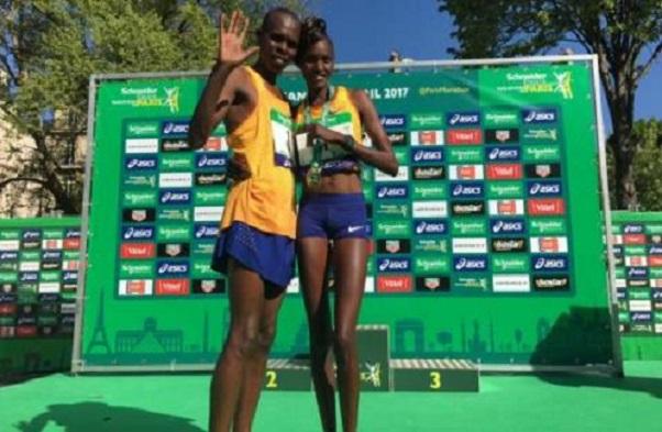 Une première dans l'histoire Les époux Paul et Purity Lonyangata gagnent le marathon de Paris