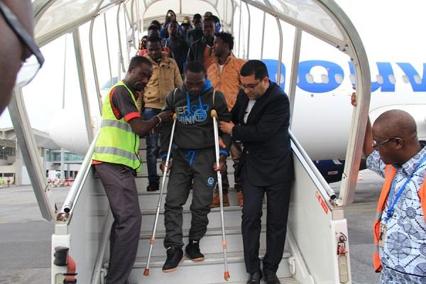 En situation irrégulière en Libye, 156 migrants ivoiriens de retour en Côte d'Ivoire