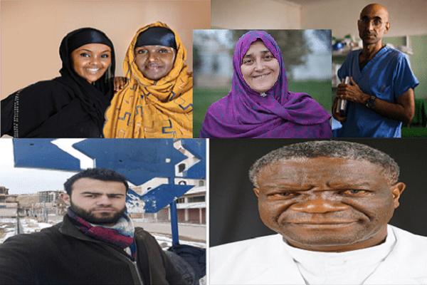 Prix Aurora for awakening humanity  Cinq finalistes sélectionnés en reconnaissance de leurs actes