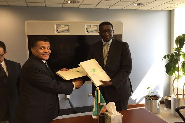 Signature d'un accord de prêt à Washington Le fonds saoudien finance la route Tambacounda-Goudiry pour 34,4 milliards de FCFA