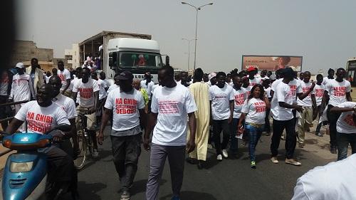 Pour le départ d'Aliou Sall, Manko Wattu  donne le ton dans les rues de Guédiawaye