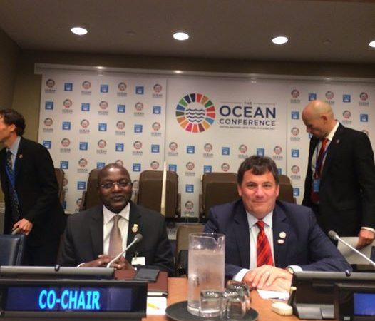 Conférence de haut niveau sur l'ODD 14 : Plaidoyer du  ministre Oumar GUEYE pour une pêche durable en Afrique