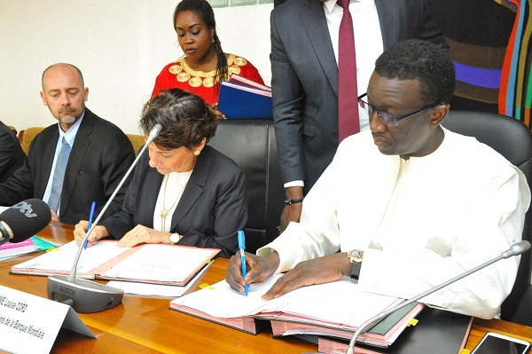 Financement : quatre accords, pour plus de 300 milliards FCFA, signés entre le Sénégal et la Banque mondiale