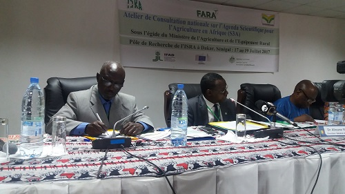 Agenda scientifique  pour l'Agriculture en Afrique (S3A) : Démarrage de la consultation nationale pour le document de projet de mise en œuvre