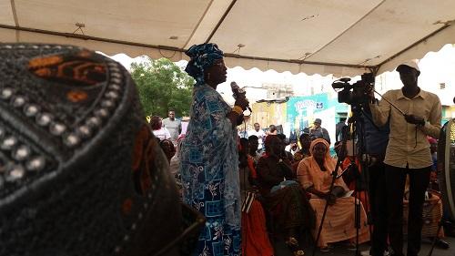 Maïmouna Ndoye Seck à la Médina : « L'enjeu, ce n'est pas la majorité parce que le président l'a déjà obtenue »