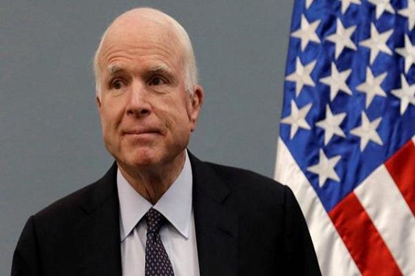 Etats-Unis : Le sénateur John McCain diagnostiqué avec une tumeur cérébrale