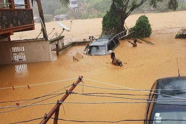 Catastrophe naturelle en Sierra Leone: des corps de victimes retrouvés jusqu'au large de Conakry, en Guinée