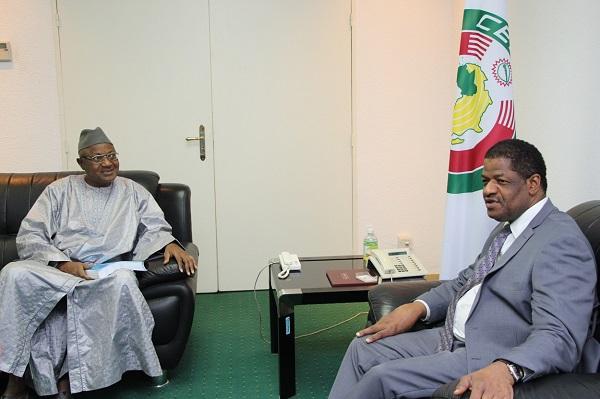 Nigéria : Mahamane Maiga fait ses adieux au président de la Commission de la CEDEAO