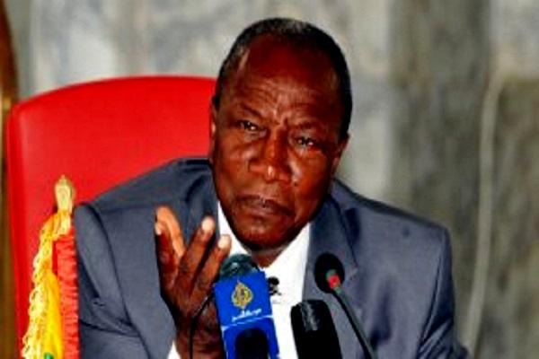 Guinée, quand Alpha Condé pête les plombs : « Arrêtez vos conneries, vous racontez des histoires, je n'aime pas l'impolitesse.. »