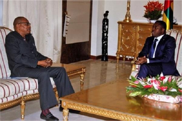 Togo : Ibn Chambas, émissaire de l'ONU, chez Faure Gnassingbé pour s'enquérir de la situation politique