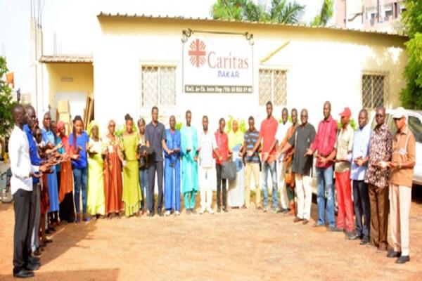 Caritas lance une campagne « Sharejourney » au Sénégal : Objectif, contribuer à l'intégration des migrants et des réfugiés