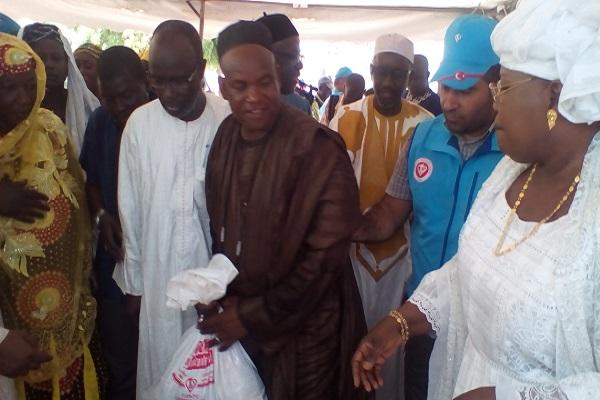 Solidarité humanitaire : de nombreux ménages sénégalais soutenus à hauteur  de plus d'un milliard FCfa par la fondation turque Dyanet