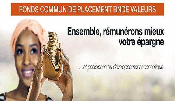 Epargne : la BNDE et CGF Bourse lancent, ce 05 octobre 2017, un nouveau produit dénommé FCP «BNDE VALEURS».
