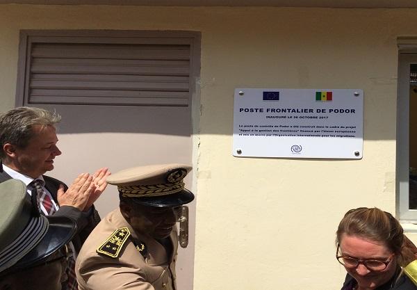Contrôle et surveillance des frontières : Le Sénégal et l'Union européenne inaugurent trois nouveaux poste-frontières