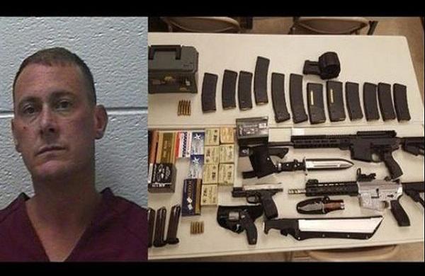 Washington County, Tennessee : Un homme arrêté lors d'une opération de contrôle avec des armes automatiques et des minutions
