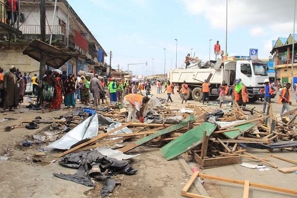 Côte-d'Ivoire/Assainissement: vaste opération de déguerpissement menée à Adjamé