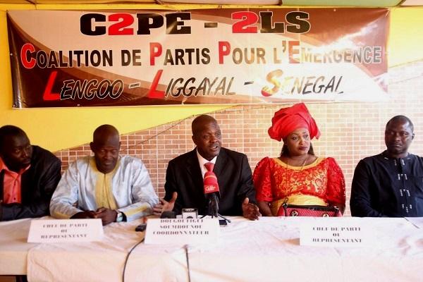 Politique : la Coalition C2P-2LS portée sur les fonts baptismaux, obejctif : réélire Macky Sall en 2019