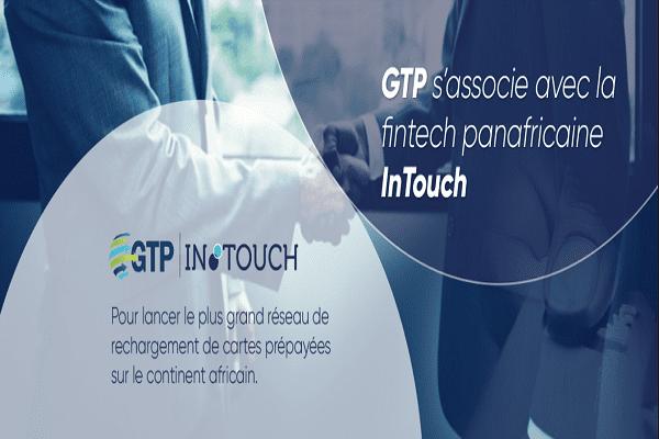 Cartes prépayées : GTP et Fintech panafricaine InTouch s'associent pour lancer le plus grand réseau de rechargement du continent